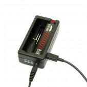 Efest X smart single charger w/ usb outlet