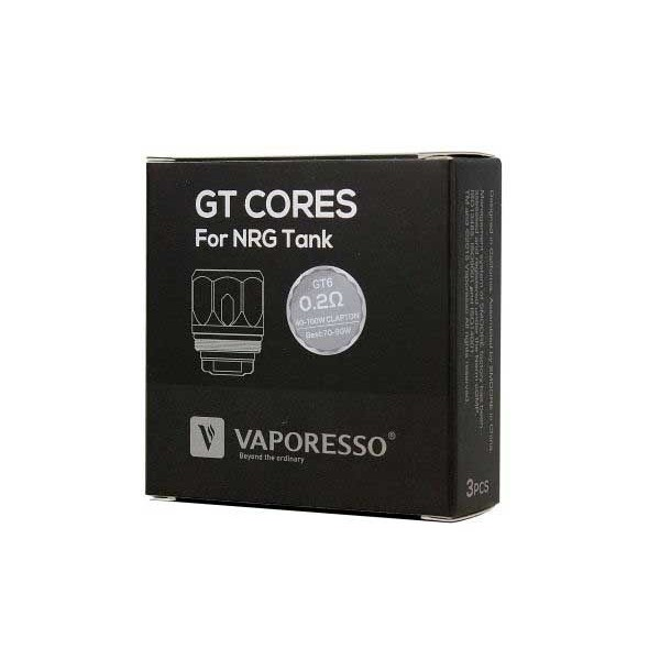 Vaporesso NRG GT6 Coil 0.2ohm 3pc/pack