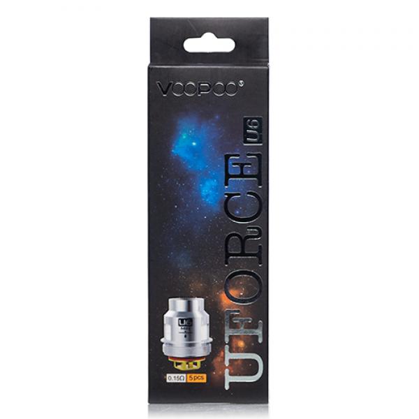 VOOPOO UFORCE Replacement Coil U6-0.15ohm 5pcs