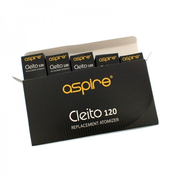 Aspire Cleito 120 Replacement Coil 0.16ohm 5pc/pack