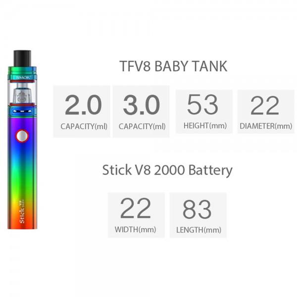 Smok Stick V8 Baby Beast Starter Kit