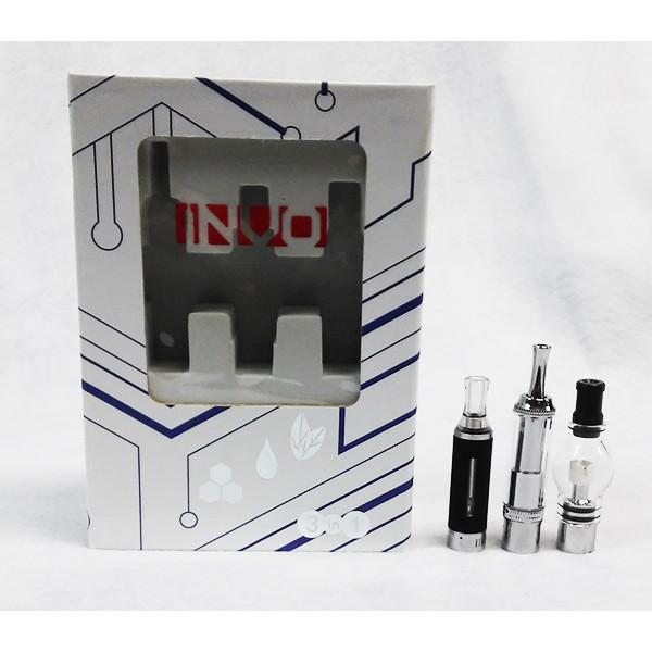 INVO 3-in-1 Vaporizer Kit (E-liquid, Shisha esolids & Dry Herb)