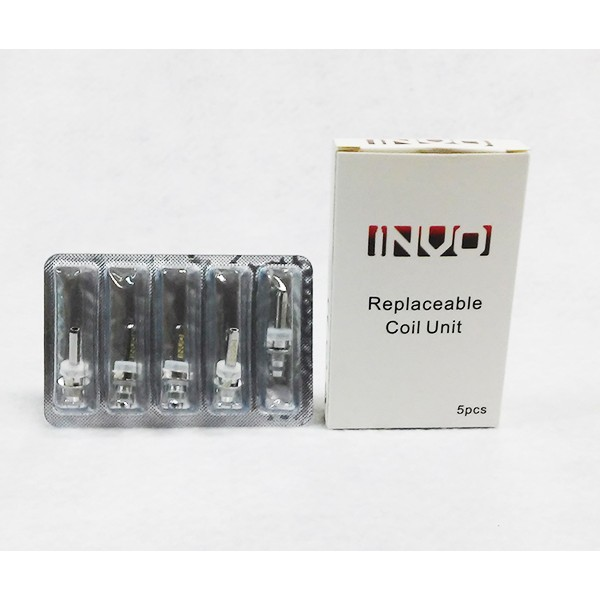 INVO Replacement Bottom Coil (For INVO Bottom Coil Tank) - 5 Pack