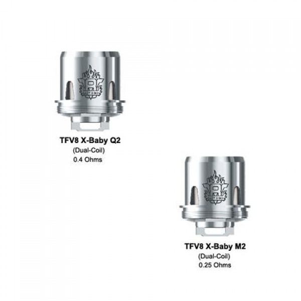 Smok TFV8 X-Baby M2 Replacement Coil 0.25ohm 3pc/pack