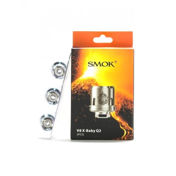 Smok TFV8 X-Baby Q2 Replacement Coil 0.4ohm 3pc/pack