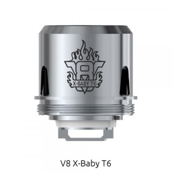 Smok TFV8 X-Baby T6 Replacement Coil 0.2ohm 3pc/pack